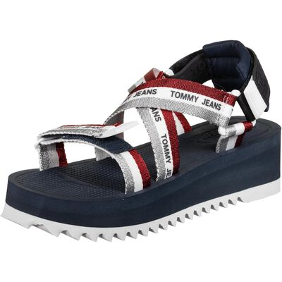 Lurex Webbing Sandal