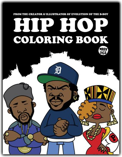 HipHop Coloring