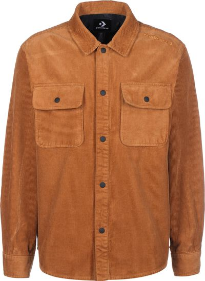Snap Front Corduroy