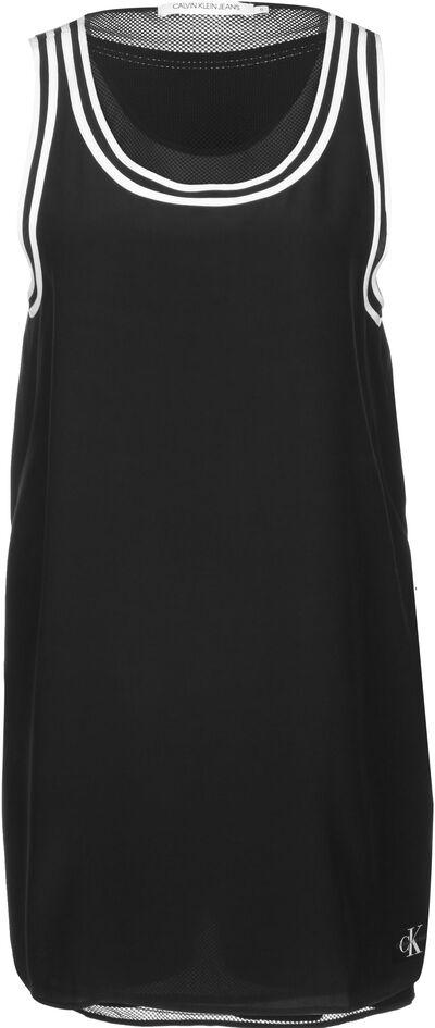 Doppellagiges A-Linien-Kleid