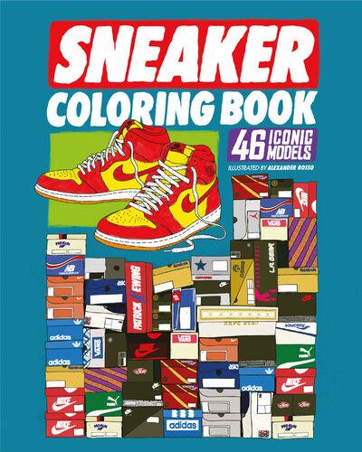 Sneaker Coloring Book