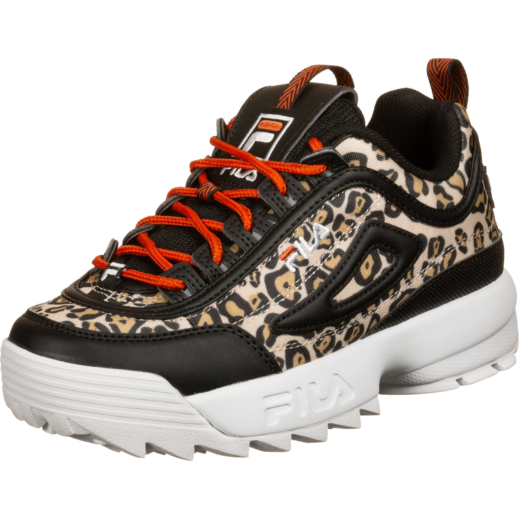 fila leopard shoes