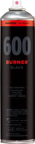 Burner Black 600