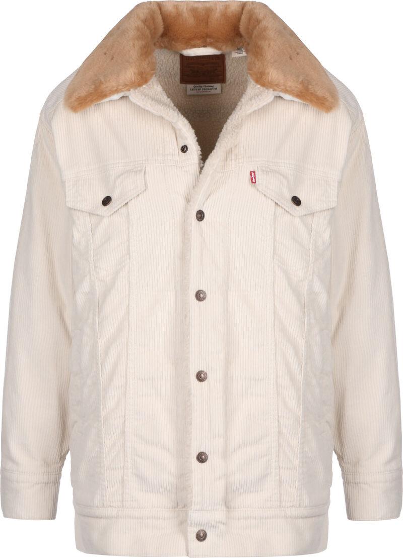Oversized Cord Fur W