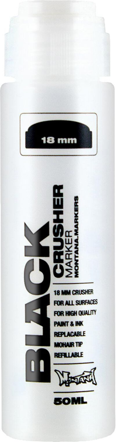 Black 50 ml 18 mm Crusher