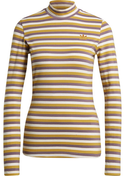 yellow purple striped