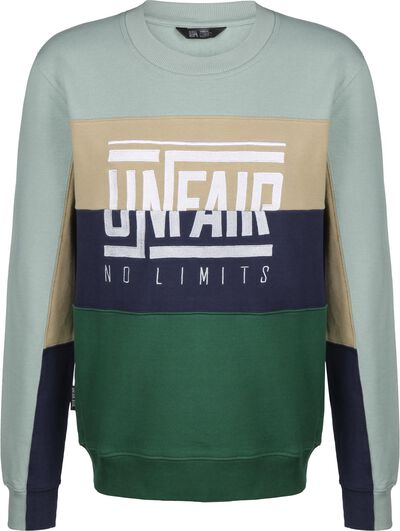 No Limit Crewneck Green Mix