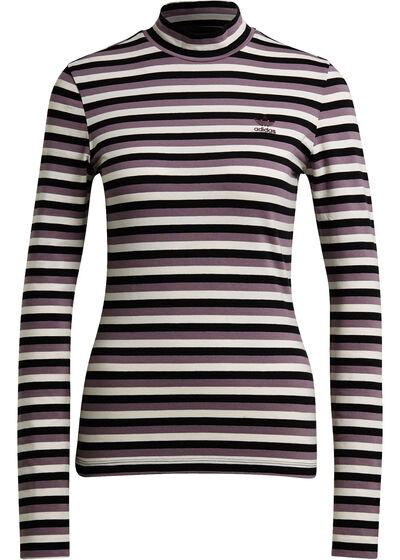 black purple striped
