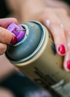 Needle Fine purple