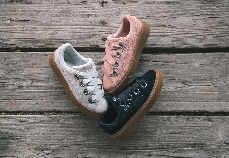 Puma Platform Kiss Suede W - Sneakers