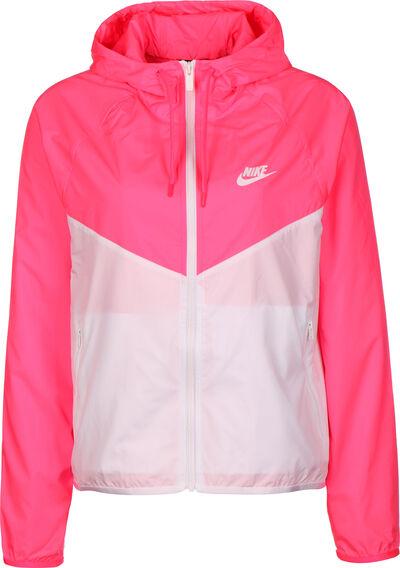 neon pink white