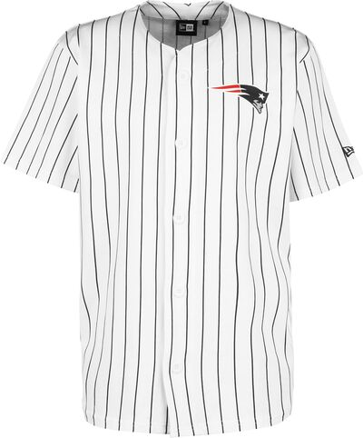 Patriots Pinstripe Baseball Jersey
