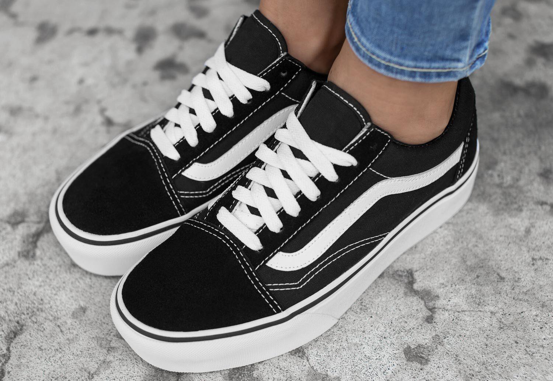 Vans Old Skool Platform - Sneakers Low