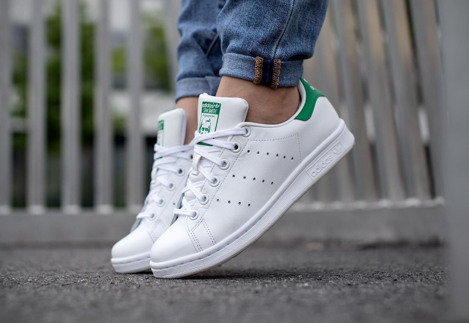 adidas Stan Smith J W - Sneakers Low at Stylefile