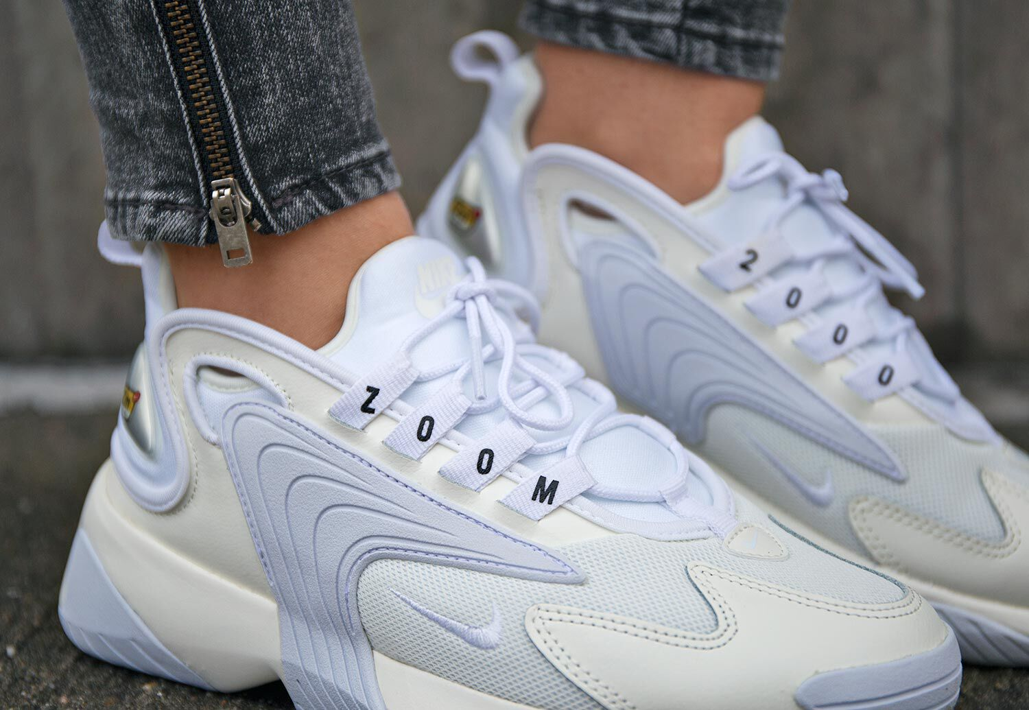 chaussure nike zoom 2k blanche