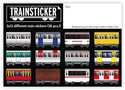 Train Set A7 36 pcs