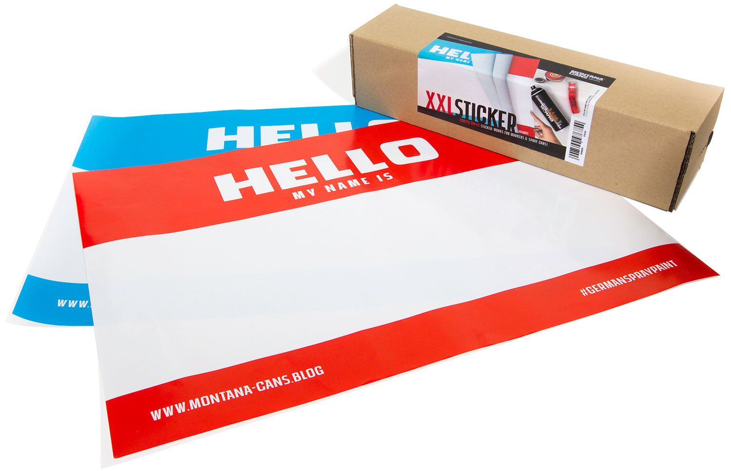 Hello My Name Is.. 10 pcs A2