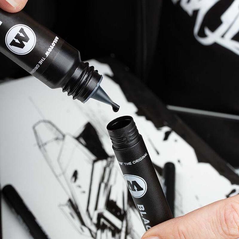 Blackliner Brush & Refill Blister