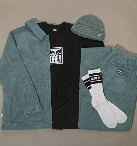 New apparel from Obey
