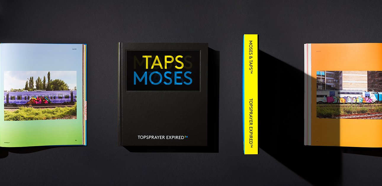 Moses Taps new book banner