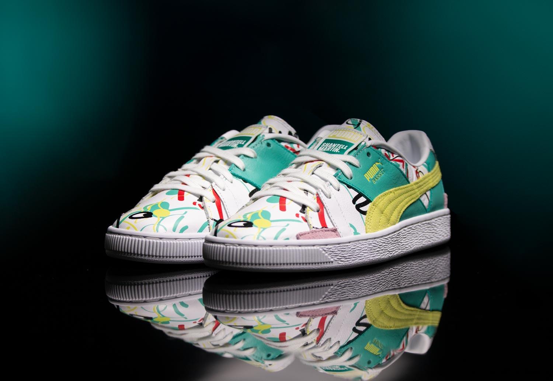 Puma Basket Graphic SM W - Sneakers Low