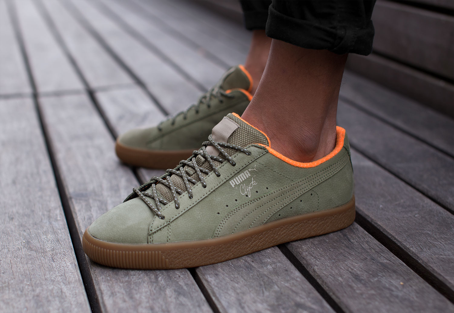 Puma Clyde Winter - Sneakers Low at
