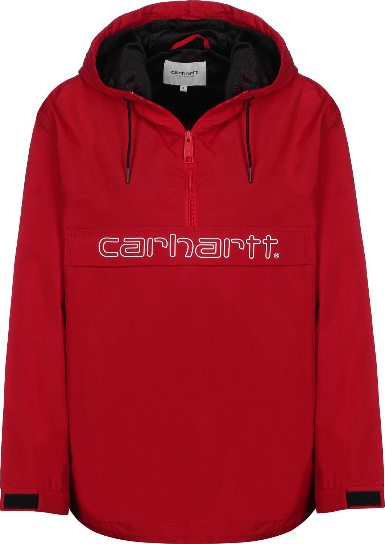 W/' Carhartt Script Pullover Black Carhartt WIP White Jacke Windbreaker