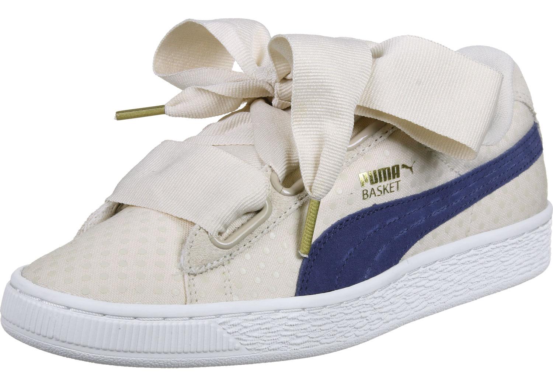 Puma Basket Heart Denim W - Sneakers