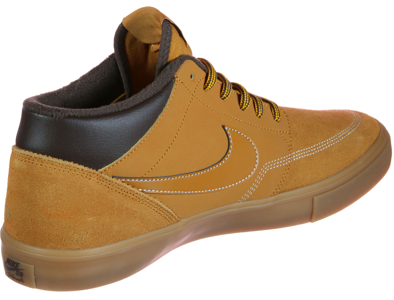Tener un picnic volverse loco Nuez  Nike SB Portmore II Solarsoft Mid Bota - Sneakers Low at Stylefile