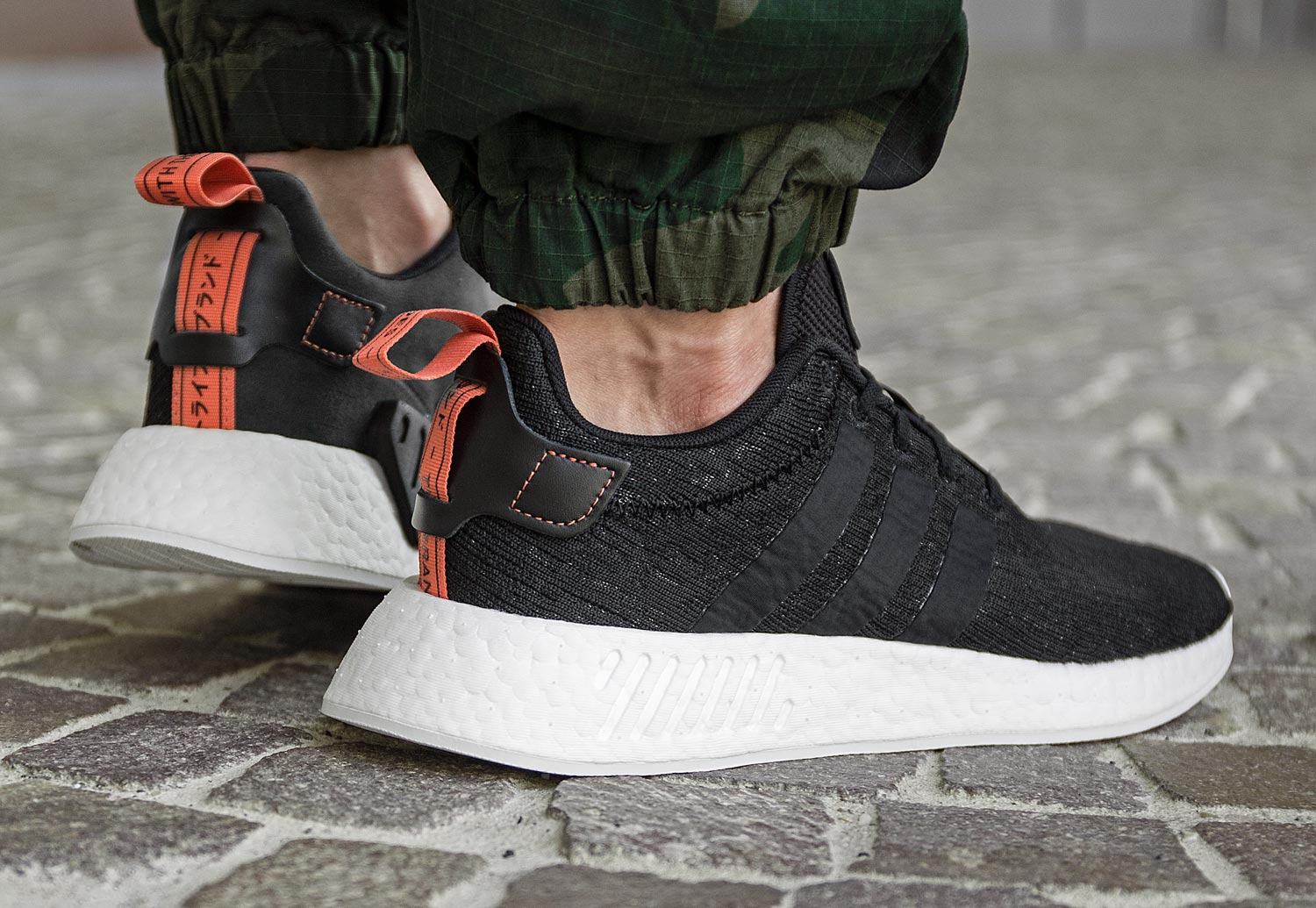 adidas nmd noir orange